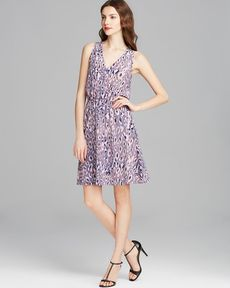 Rebecca Taylor Dress - Sleeveless Cheetah Ombre