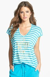 kensie 'Next Wave - Find a Beach' High/Low Tee