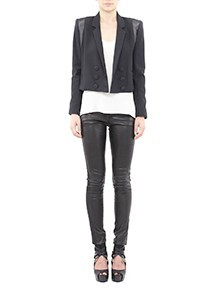 Crop Wool Blazer