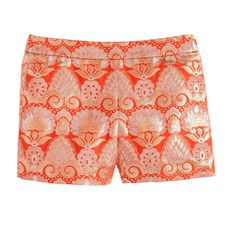 Collection gilded brocade short