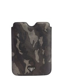 Prada camouflage saffiano leather iPad Mini case