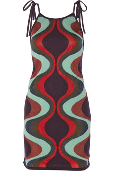 M Missoni Intarsia cotton-blend dress