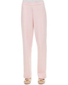 Joan Vass Cotton Interlock Pants