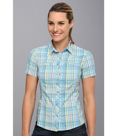 adidas Outdoor Hiking Check Short Sleeve Shirt