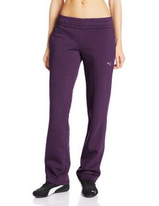 PUMA Women's ESS Sweat Pants Open Fleece