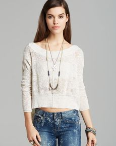 Free People Pullover - These Days Fine Gauge