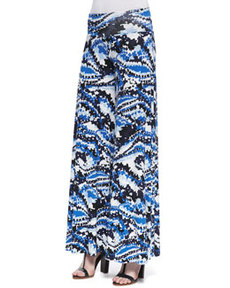 Rachel Pally Digital Printed Wide-Leg Pants