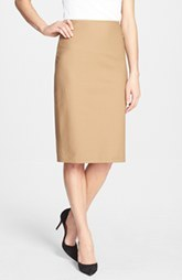 Lafayette 148 New York 'Metropolitan Stretch' Slim Skirt