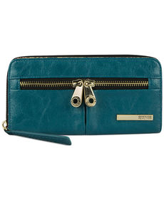 Kenneth Cole Reaction Wallet, Wooster Street Zip Around Clutch with Front Panel