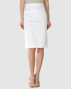 SALVATORE FERRAGAMO - Knee length skirt
