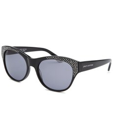 Juicy Couture Women's Wayfarer Black Sunglasses