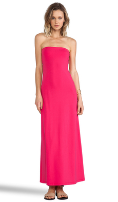 Susana Monaco Helena Maxi Dress in Fuchsia