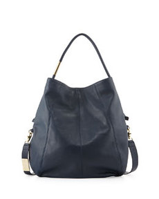 Foley + Corinna Southside Leather Hobo Bag, Navy
