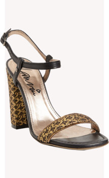 Lanvin Brocade Ankle-Strap Sandals
