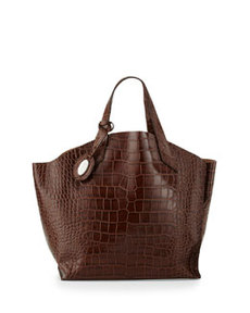 Furla Jucca Medium Tote Bag, Chocolate