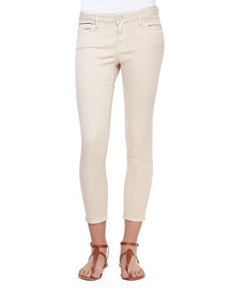 Stretch-Denim Cropped Skinny Jeans   Stretch-Denim Cropped Skinny Jeans
