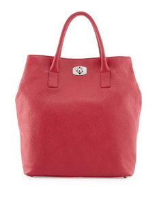 Furla New Appaloosa Large Tote Bag, Fuchsia