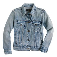 Vintage denim jacket in patina wash