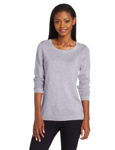 Calvin Klein Women's Scatter Pearl Sweater