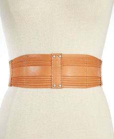 Calvin Klein Tapered Multi Layered Stretch Belt