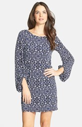 Laundry by Shelli Segal Print Jersey Shift Dress (Petite) (Petite)
