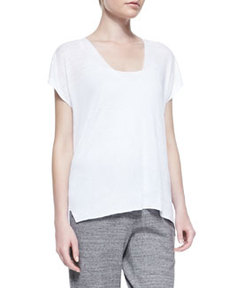 Sag Harbor Fine-Gauge Knit Top   Sag Harbor Fine-Gauge Knit Top