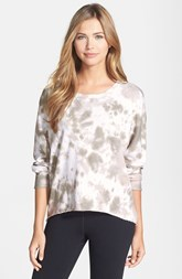 Marc New York by Andrew Marc Tie Dye High/Low French Terry Sweatshirt