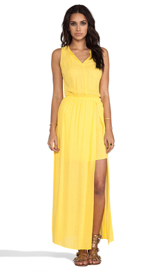 Ella Moss Stella Maxi Dress in Yellow