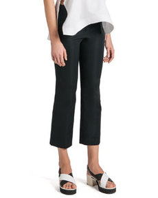 Stretch Satin Ankle Pants   Stretch Satin Ankle Pants