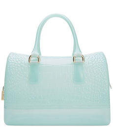 Furla Candy Croc Embossed Medium Satchel