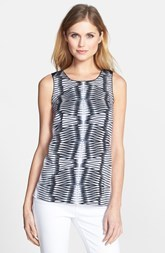 kensie 'Mirror Print' Sleeveless Top