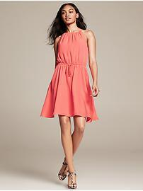 Cinch-Waist Dress