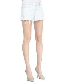 1158 Addicted Soft Light-Wash Cutoff Shorts   1158 Addicted Soft Light-Wash Cutoff Shorts
