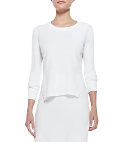 Ellen Side-Slit Knit Sweater   Ellen Side-Slit Knit Sweater