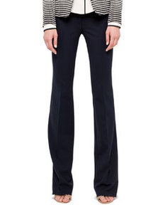 Faye Boot-Cut Techno-Wool Pants   Faye Boot-Cut Techno-Wool Pants