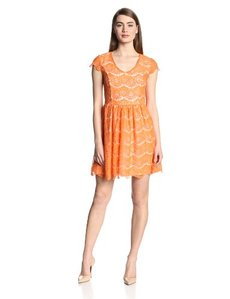 Kensie Women's Floral Lace Dress