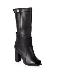3.1 Phillip Lim Issa Leather Mid-Calf Boots