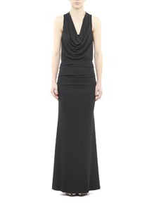 Cowl Neck Jersey Gown