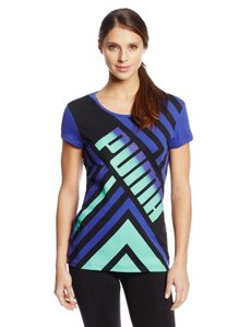 PUMA Women's Logo Graphic Tee