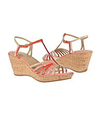 "Naturalizer® ""Newly"" T-Strap Wedge Sandals"