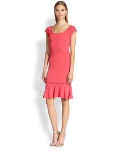 Emilio Pucci Flirty Knit Dress