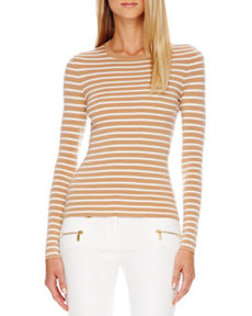 Striped Cashmere Top   Striped Cashmere Top