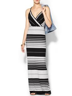 Michael Stars Striped Maxi Dress