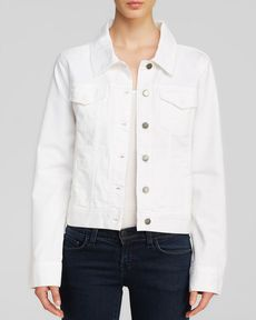 Eileen Fisher Cropped Jean Jacket