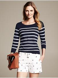 Multi-Stripe Pullover