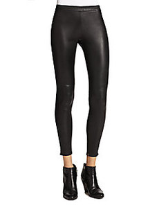 Joie Alvarine Leather Leggings