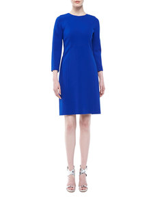 Michael Kors Boucle A-Line Dress