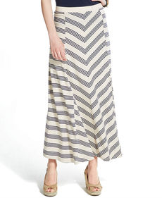 Tommy Hilfiger Striped Maxi Skirt