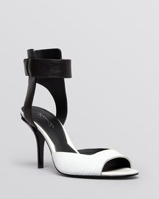 Kenneth Cole Open Toe Sandals - Tudor High Heel