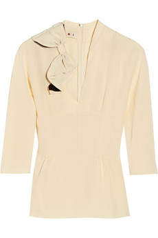 Marni Silk-crepe top